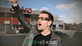 #U2ENA: daina apie neįtikėtiną, bet neabejotiną U2 lyderio Bono investiciją Utenoje