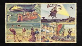 Ateities prognozės prieš šimtmetį: banginių tempiami autobusai ir narai ant jūros arkliukų