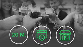 Alkoholio prieinamumo ribojimai: kas keičiasi nuo sausio 1 d.?