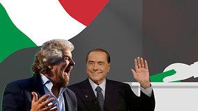 Rinkimai Italijoje: ar kas nors laimės ar... nelaimės niekas?
