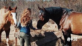 """Žirgyno """"Raudoni vakarai"""" įkūrėja Simona įgyvendino savo vaikystės svajonę"""