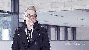 """Paroda """"Kolekcionuojant hitus. Kūriniai ir garso takeliai iš """"Lewben Art Foundation"""" kolekcijos"""". Andrius Mamontovas"""