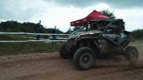 """""""CFMOTO Factory Racing Team"""" komanda startavo """"Enduro Rally"""" varžybose Latvijoje"""
