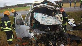 Tragiška avarija kelyje Via Baltica