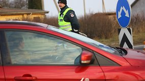 Tarptautinis kelių policijos reidas kelyje Via Baltica
