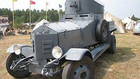 """Dariaus Maceinos pasakojimas apie """"Rolls-Royce Armoured Car"""" ir """"Kübelwagen"""""""