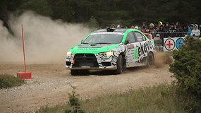 """Rally Saaremaa"" 4-6 greičio ruožai"