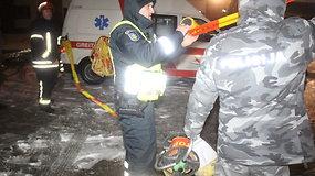 Daugiabučio evakuacija Panevėžyje