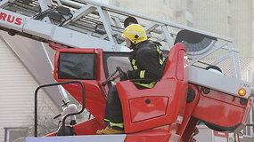 Namo gaisras Panevėžyje