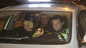 Į Rusiją važiavęs vilkiko vairuotojas Panevėžyje sulaikytas visiškai girtas