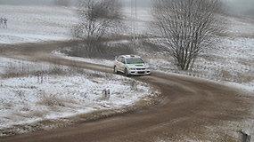 """Šeštasis """"Winter rally"""" greičio ruožas"""