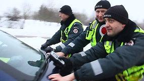 Vairuotojų blaivumo patikra Panevėžyje