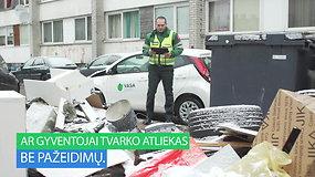 Ar žinote, kaip Vilniuje kontroliuojami atliekų tvarkymo pažeidimai?