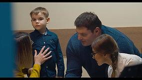Jautriame socialiniam klipe – Ž. Savicko kvietimas praplėsti žinias apie autizmą