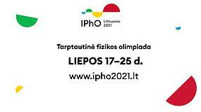 IPhO 2021 vyks Lietuvoje