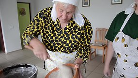 Dzūkiška babka arba  – grikių pyragas