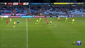 Žvilgsnis į rungtynes Liuksemburge – pirmasis įvartis į Lietuvos rinktinės vartus