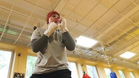 Boksininkė Gabrielė Stonkutė rengiasi olimpinei atrankos kovoms