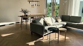 Pasižvalgykite: interjeras, alsuojantis minimalistine estetika