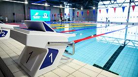 Vilniuje duris atvėrė naujas Fabijoniškių plaukimo baseinas