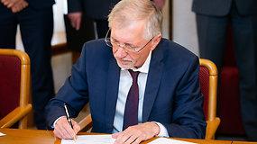 G.Kirkilas pasirašius koalicijos sutartį: Yra kandidatas į žemės ūkio ministrus
