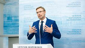 L.Kukuraitis po susitikimo su prezidentu: mano lyderystė yra daugiau darbai negu buvimas pirmuosiuose puslapiuose