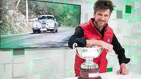 15min studijoje – Monte Karlo ralyje nugalėjęs lenktynininkas Karolis Raišys