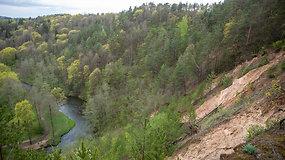 Virtuali ekskursija: Pučkorių atodanga – aukščiausia Lietuvoje