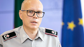 VSAT vadas Rustamas Liubajevas apie padėtį pasienyje: apgręžti apie 180 migrantų