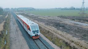 Atstatytas 19 km ilgio geležinkelio ruožas tarp Mažeikių ir Rengės