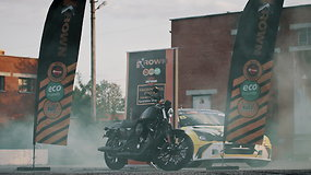 """Krown"" vienam klientui dovanoja ""Harley Davidson"""