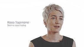 Sergančiųjų ŽIV istorijos – garsių žmonių lūpomis: Rasa Tapinienė