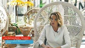 """Lina Kalinauskaitė-Forsman: """"Druskininkai yra verti klestėti"""""""