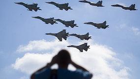 Rugsėjo 14 d. prasidės didžiausi kariniai manevrai nuo Šaltojo karo pabaigos