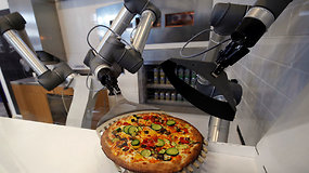 Iššūkis tradicinės picos kepėjams – prancūzų sukurtas robotas jų pagamina triskart daugiau