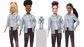 Barbė tapo robotų technikos specialiste – įkvėps mergaites mokytis kodavimo