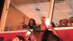 Barackas ir Michelle Obamos pastebėti šėlstantys Beyonce ir Jay-Z koncerte