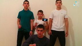 """""""Islamo valstybė"""" paviešino už atakas Čečėnijoje atsakingų berniukų vaizdo įrašą"""