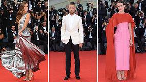 Auksinis Holivudas Italijoje: kerintis 75-ojo Venecijos kino festivalio raudonasis kilimas