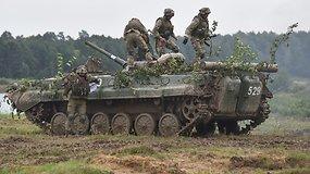 Ukrainoje pradėtos didelio masto karinės pratybos su NATO pajėgomis