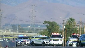 Kalifornijoje siautėjęs šaulys nužudė penkis žmones ir nusišovė pats