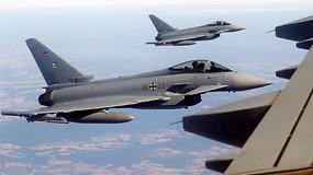 NATO Europos narių naikintuvai imitavo Rusijos orlaivių atgrasymą