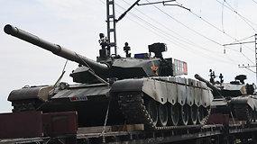 Rusijoje prasidėjo didžiausios karinės pratybos per šalies istoriją