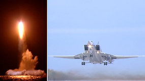 Rusija surengė plataus masto branduolinių pajėgų karines pratybas