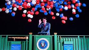Lyg gyvas: sukurta pirmoji tokia JAV prezidento R.Reagano holograma