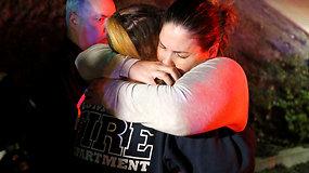 Tragiška naktis JAV: liudininkai pasakojo apie siaubą per mirtiną šaulio išpuolį bare