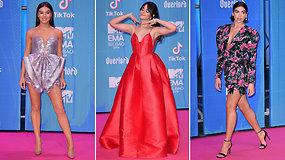 Pasigrožėkite: MTV apdovanojimų raudonasis kilimas