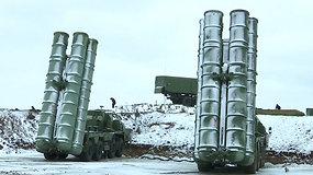 Rusija stiprina pajėgas: okupuotame Kryme dislokavo pažangiausią raketinės gynybos sistemą