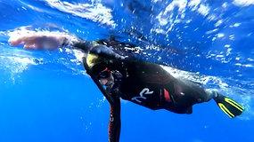 Nepasisekusi didinga misija – audra sutrukdė tapti pirmuoju Ramųjį vandenyną perplaukusiu žmogumi