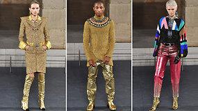"""Pasigrožėti auksu tviskančia naujausia """"Chanel"""" kolekcija rinkosi ir žvaigždės"""